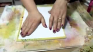 Fun Foam Gelli Plate Printing