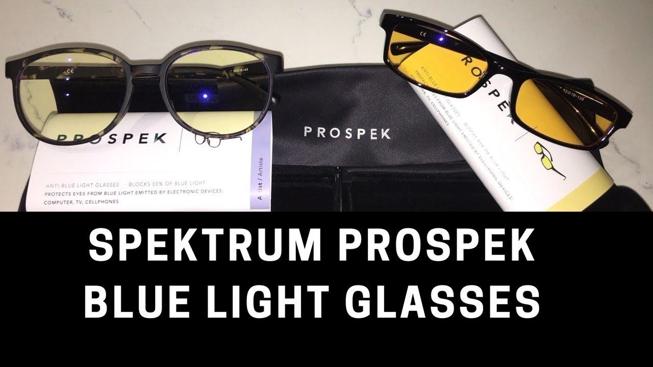 05135ba51a Best Anti-Blue Light Glasses- Spektrum- Prospek Glasses - YouTube