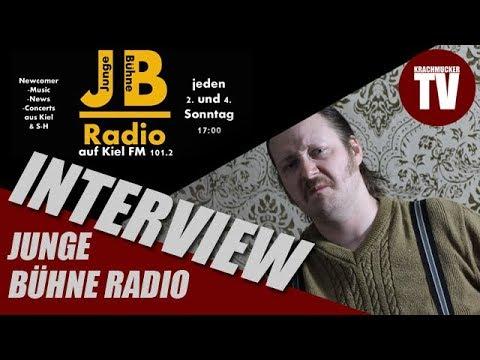 Ernie F. im Interview mit Junge Bühne Radio aus Kiel