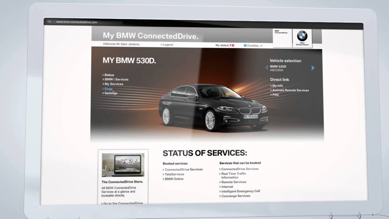 Registration for BMW ConnectedDrive   YouTube