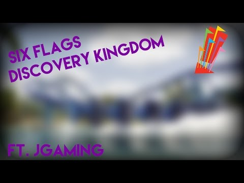 Six Flags Discovery Kingdom | VLog ft. J Gaming |