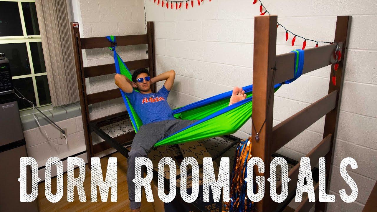 Finally I Hammock In My Dorm Room