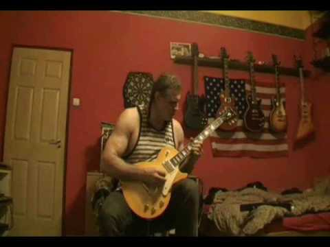 Pink Floyd Comfortably Numb solo cover  Harley Benton SC450 plus guitar
