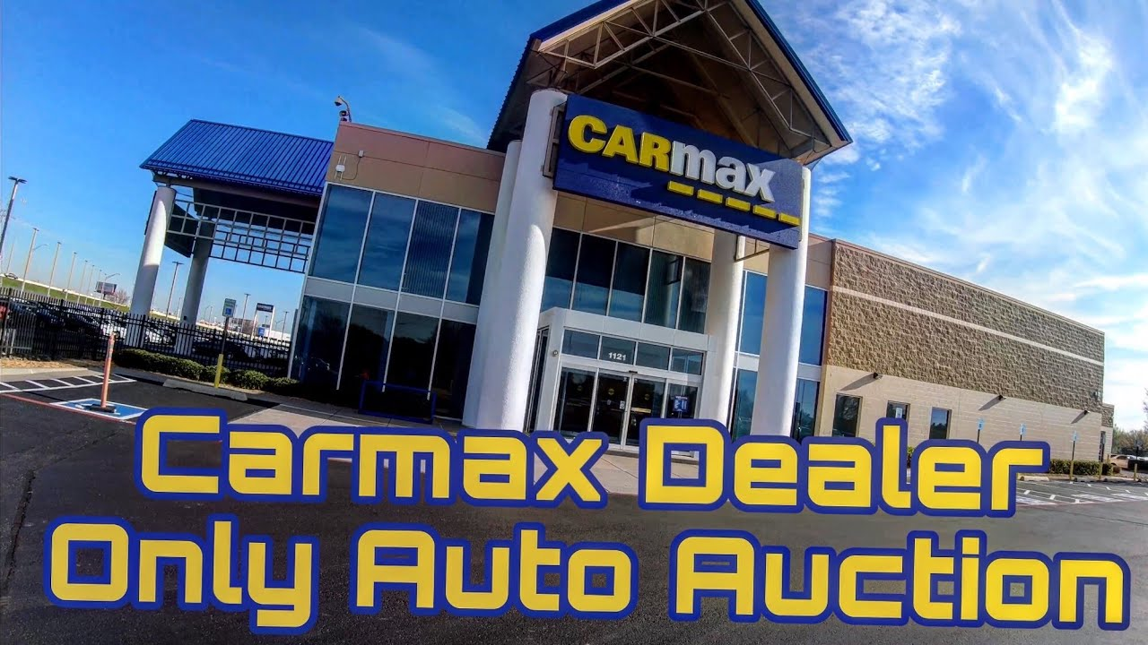 carmax dealer auction login