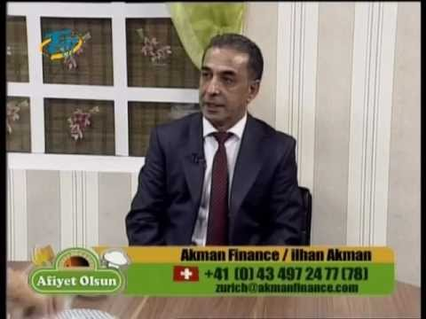 Afiyet Olsun TGRT EU / Akman Finance / İlhan Akman