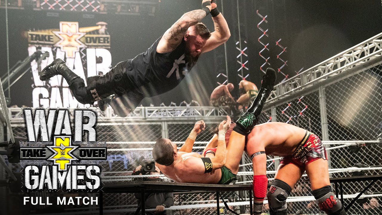 Download FULL MATCH - Team Ciampa vs. The Undisputed ERA – WarGames Match: NXT TakeOver: WarGames 2019