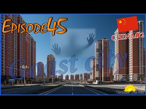 Ghost city Ordos, Lanzhou (China). Towards The Sun by Hitchhiking 45