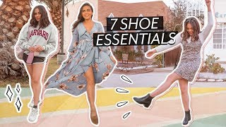 7 SHOE ESSENTIALS THAT WILL NEVER LET YOU DOWN // Jessica Neistadt ♡