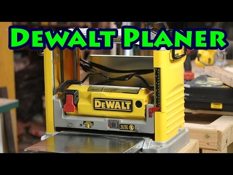 Dewalt DW734 Planer Review