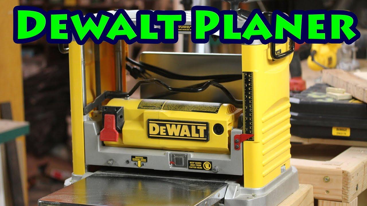 Dewalt DW734 Planer Review