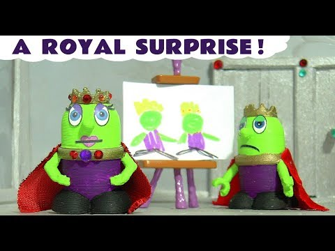 Funny Funlings Royal Surprise for King and Queen Funling with Thomas The Tank Engine TT4U