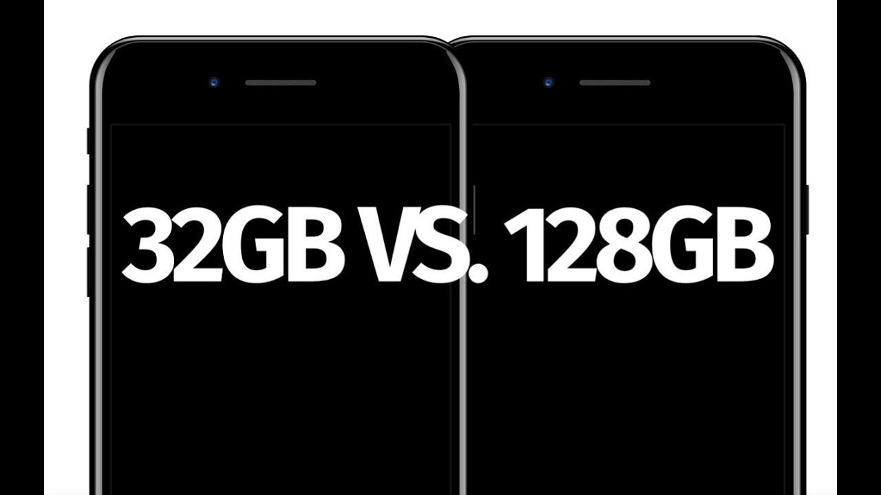 What is the difference between iPhone 7 32gb vs  128gb - iPhone 7 Plus 32gb  vs 128gb
