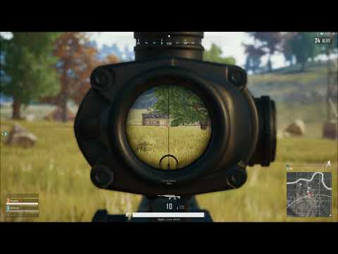 PLAYERUNKNOWN'S BATTLEGROUNDS Clean SKS kill