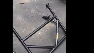 Miata Hard Dog Roll Bar Install