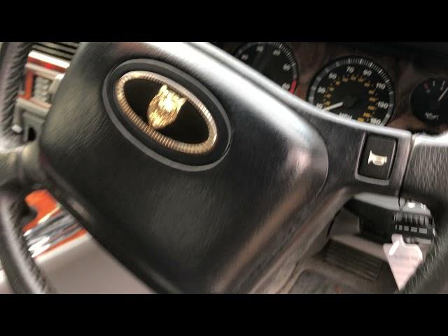 LOt 12 1992 Jaguar XJS