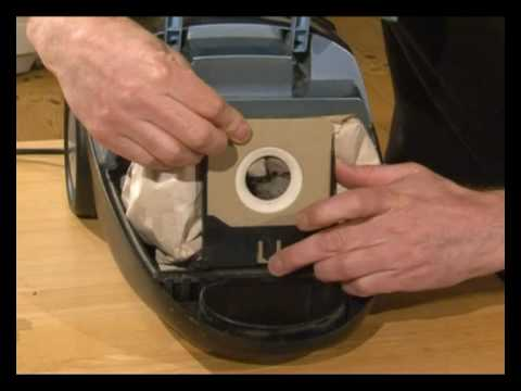 How To Change Vacuum Bags On Your Vacuum Cleaner Youtube