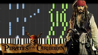 Repeat youtube video Pirates of the Caribbean Medley [Piano Tutorial] (Synthesia) // Kyle Landry + SHEETS/MIDI