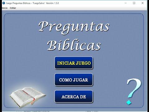Juego Preguntas Biblicas Informacion Youtube