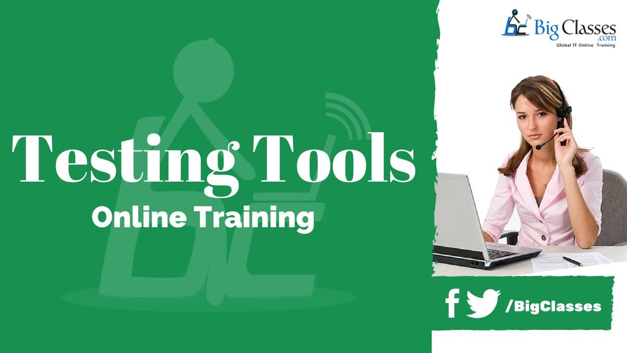 Testing Tools Training Video Testing Tools Online Tutorials Youtube