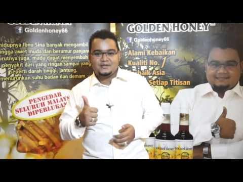 Cara menguji keaslian madu (Golden Honey)