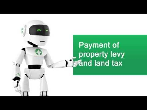 Payment of property and land tax of individual entities