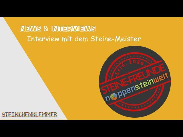 Steine-Freunde / Interview mit dem Steine Meister
