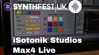 Synthfest 2018 - isotonik Studios Melody Sauce, ClyphX and more