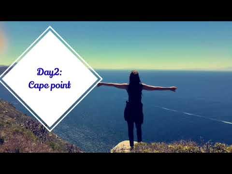 My trip to CAPE TOWN - Travel vlog - South Africa رحلتي لكيب تاون