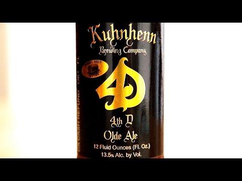 Kuhnhenn Brewing Company: Kuhnhenn Bourbon Barrel Fourth Dementia - What Cheers! Review #095