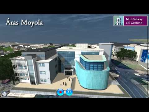 NUI Galway 3D Virtual Campus Tour and Campus Developments
