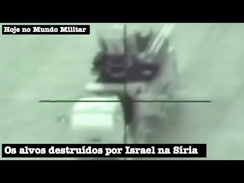 Os alvos destruídos por Israel na Síria