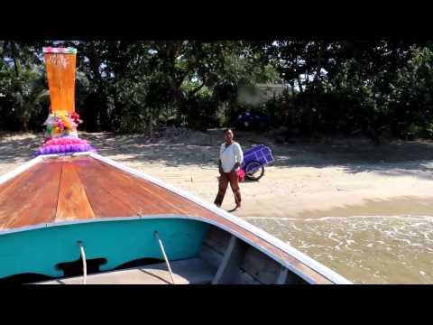 Arrival Koh Jum Beach Villas