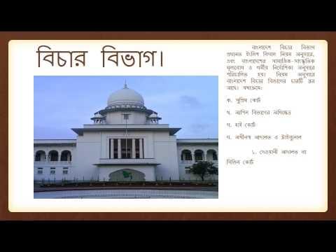 সরকারের শাখা এবং স্তর Bangladesh Government system & level