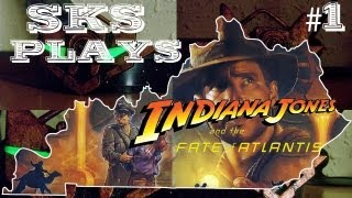 SKS Plays Indiana Jones and the Fate of Atlantis:  New York City   [Episode 1]