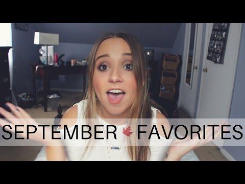 September Favorites 2015!   Ali Brustofski