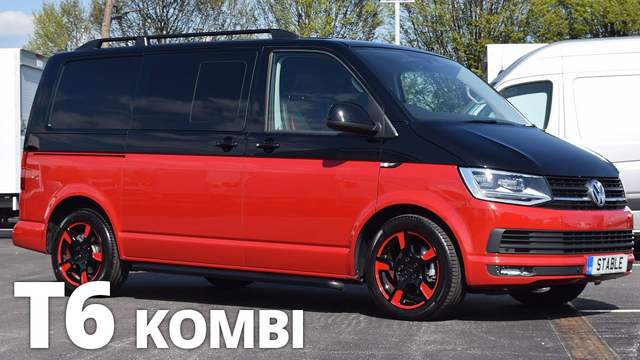 2016 Volkswagen T6 Kombi T32 Custom Two Tone Walk Around