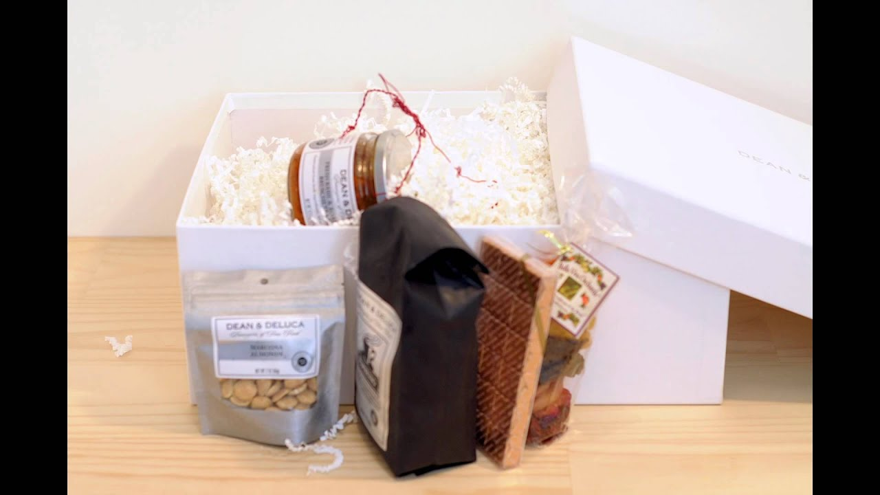 Dean & Deluca Unboxing by Gift Basket Review - YouTube