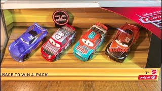 ディズニーカーズ3 クロスロード マテルのミニカー4台セット♪ダニー&ティム&マーリ&T.G