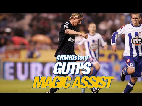 Guti's INCREDIBLE backheel assist! | Deportivo 1-3 Real Madrid