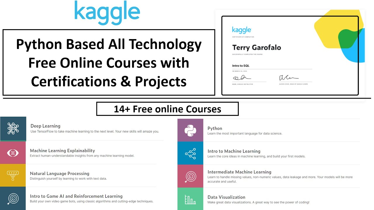 14+ Free ML, Deep Learning AND NLP Online Courses With ...