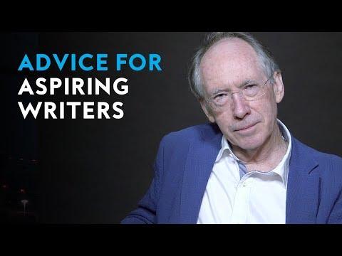 Advice for aspiring writers   Ian McEwan