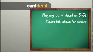 How To Play Card Dead In Poker.