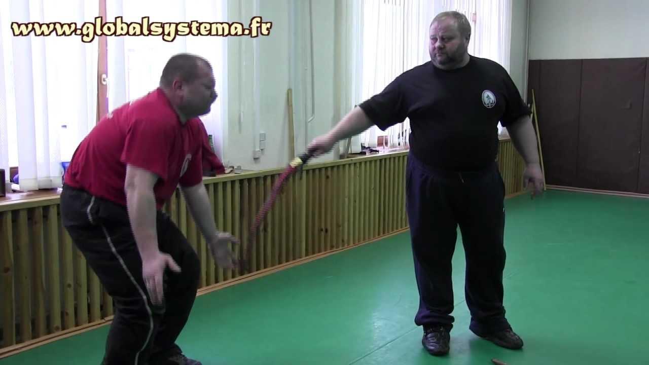 Systema Moscou (3/10) -- Fouet avec Ryabko / Whip with Ryabko