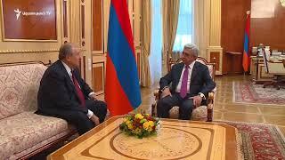 Արմեն Սարգսյանը համաձայնել է առաջադրվել որպես նախագահի թեկնածու