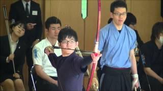 都学の学生射手 参-弓道・百射会-