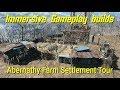 Abernathy Feeder Farm Settlement Tour (Immersive Gameplay mod)