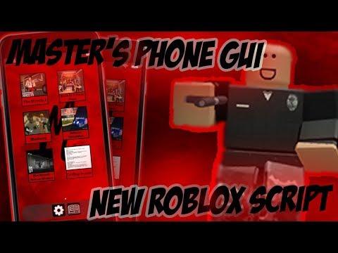 New Roblox Phone Gui Script Bloxburg Streets 2 Etc Roblox Exploit Youtube