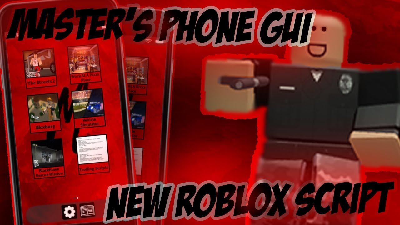 New Roblox Phone Gui Script Bloxburg Streets 2 Etc