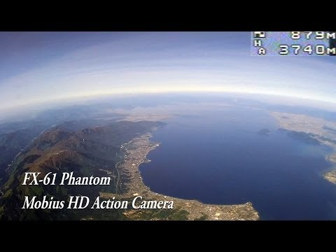 FPV RC Plane High altitude record Mobius HD Autopilot