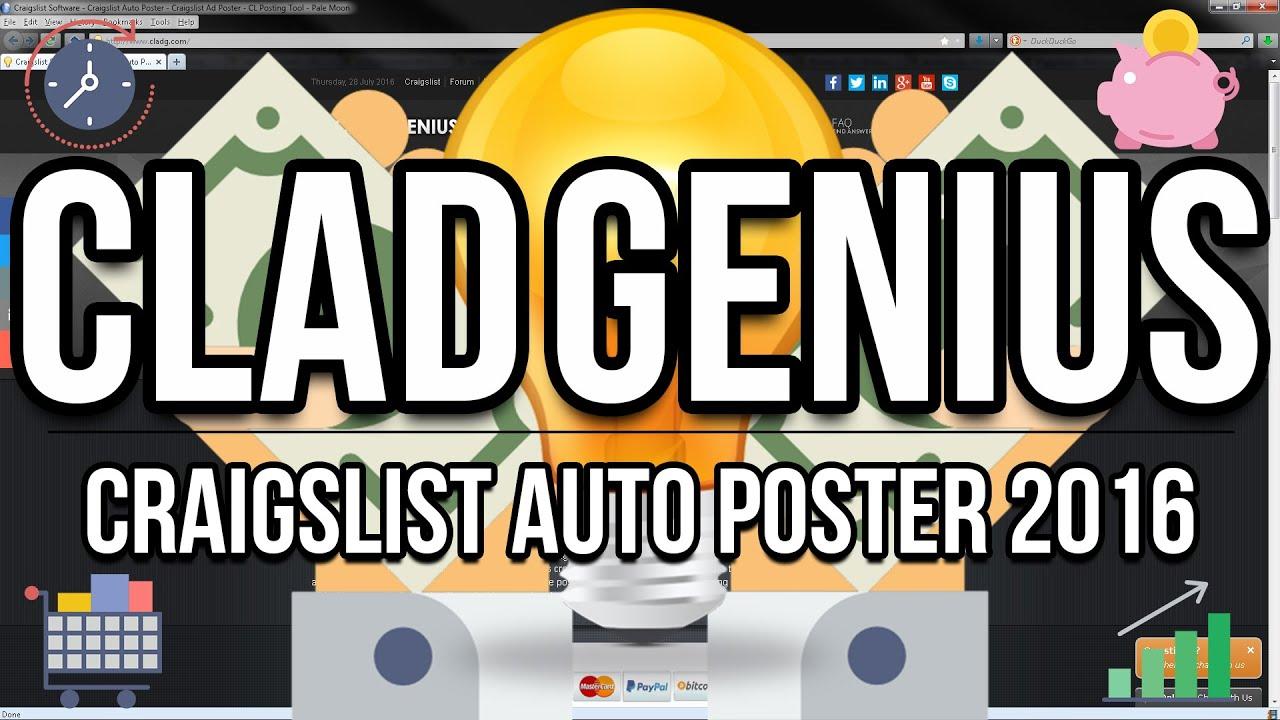 Craigslist Software - Craigslist Auto Poster - Craigslist Ad